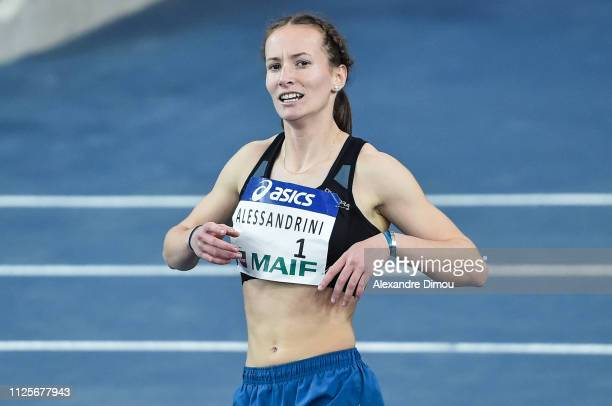 Sacha Alessandrini winner in 60m hurdles during the French Championship Athletic Indoor on February 17 2019 in Miramas France