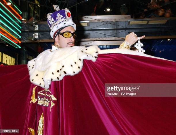 Sacha Baron Cohen aka Ali G arriving at the Empire Cinema in London's Leicester Square for the premiere of Ali G InDaHouse