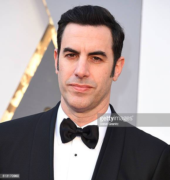 Sacha Baron Cohen arrives at the 88th Annual Academy Awards at Hollywood Highland Center on February 28 2016 in Hollywood California