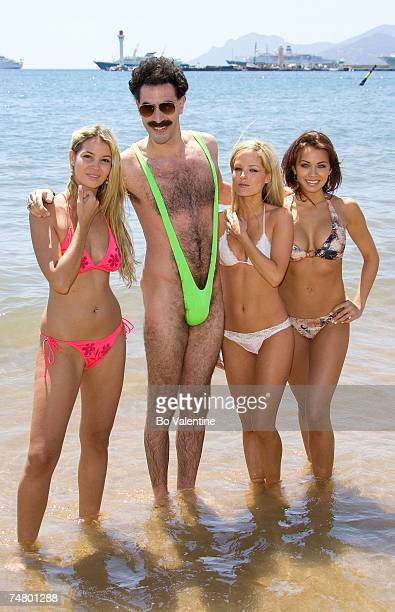 Sacha Baron Cohen as Borat at the 2006 Cannes Film Festival Borat Arrives in Cannes at in Cannes