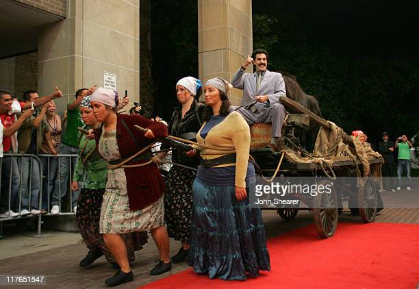 Sacha Baron Cohen as Borat during 31st Annual Toronto International Film Festival 20th Century Fox Opening Night Premiere of Borat at Ryerson Theater...