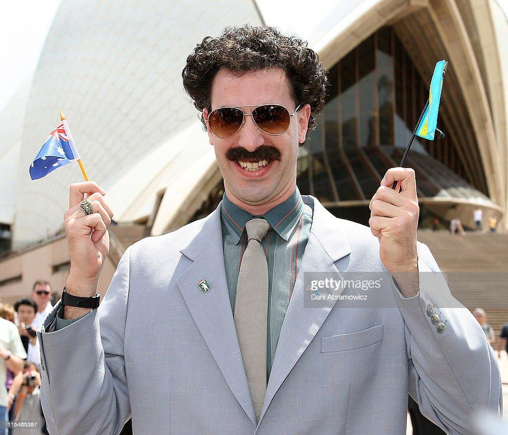 Borat Sydney Press Conference : News Photo