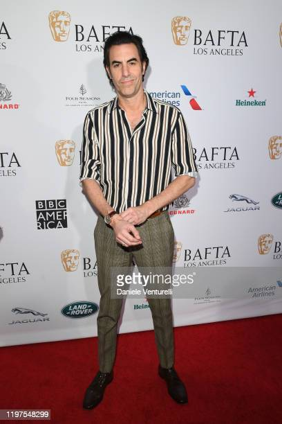 Sacha Baron Cohen attend The BAFTA Los Angeles Tea Party at Four Seasons Hotel Los Angeles at Beverly Hills on January 04, 2020 in Los Angeles,...