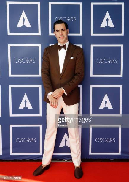 Sacha Baron Cohen attends a screening of the Oscars on Monday April 26, 2021 in Sydney, Australia.