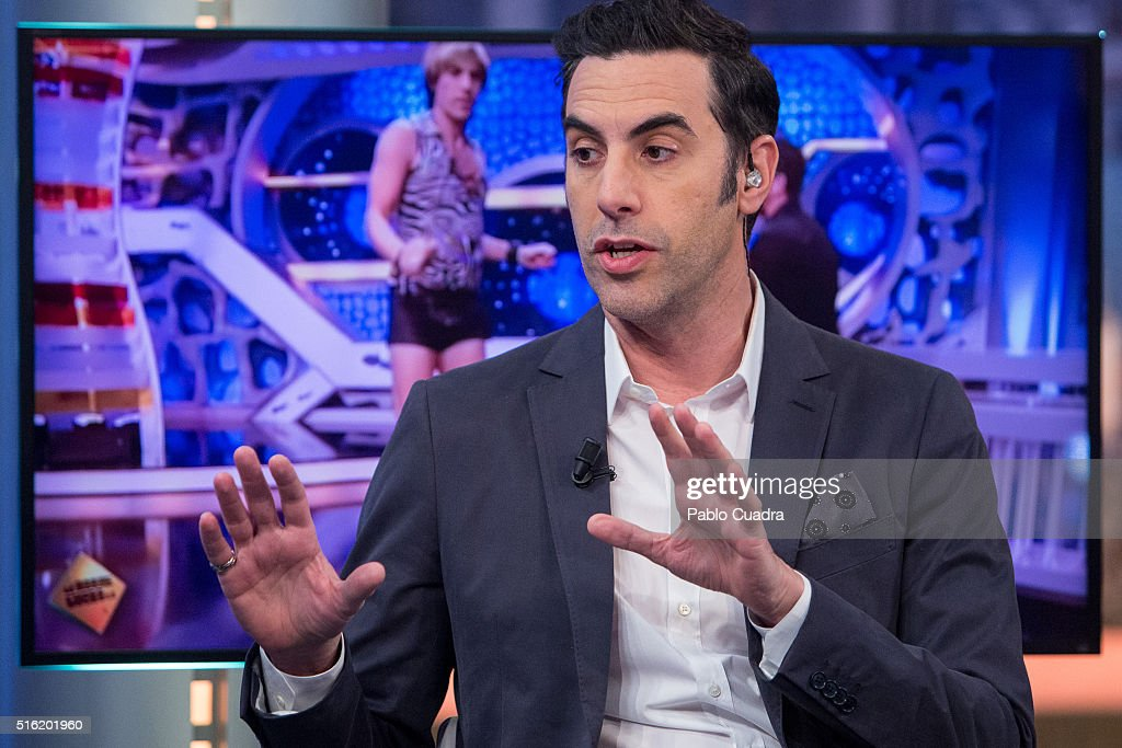Sacha Baron Cohen Attends 'El Hormiguero' Tv Show : News Photo