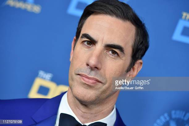 Sacha Baron Cohen attends the 71st Annual Directors Guild of America Awards at The Ray Dolby Ballroom at Hollywood & Highland Center on February 02,...