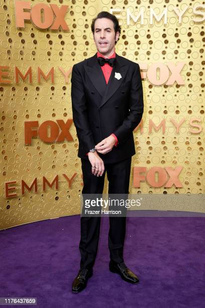 Sacha Baron Cohen attends the 71st Emmy Awards at Microsoft Theater on September 22, 2019 in Los Angeles, California.