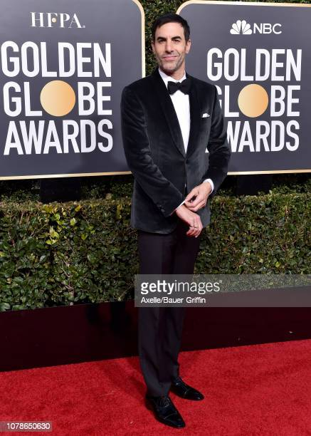 Sacha Baron Cohen attends the 76th Annual Golden Globe Awards at The Beverly Hilton Hotel on January 6, 2019 in Beverly Hills, California.
