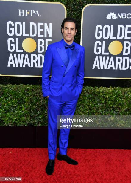 Sacha Baron Cohen attends the 77th Annual Golden Globe Awards at The Beverly Hilton Hotel on January 05, 2020 in Beverly Hills, California.
