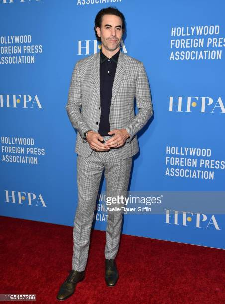 Sacha Baron Cohen attends the Hollywood Foreign Press Association's Annual Grants Banquet at Regent Beverly Wilshire Hotel on July 31 2019 in Beverly...