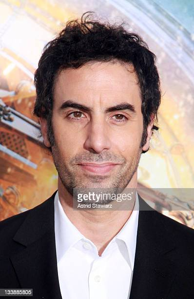 Sacha Baron Cohen attends the 'Hugo' premiere at the Ziegfeld Theatre on November 21 2011 in New York City
