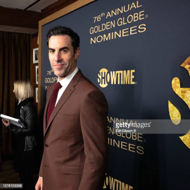 Sacha Baron Cohen attends the Showtime Golden Globe Nominees Celebration at Sunset Tower Hotel on January 5, 2019 in West Hollywood, California.