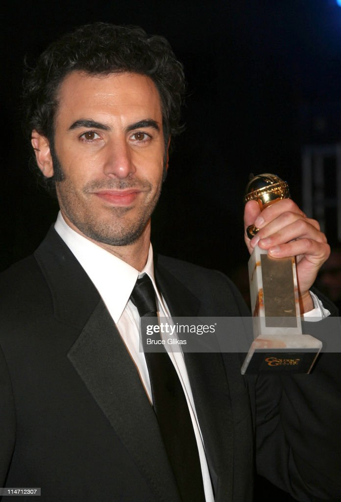 Sacha Baron Cohen during Paramount Pictures Hosts 2007 Golden Globe Award After-Party at Beverly Hilton Hotel in Beverly Hills, California, United States.