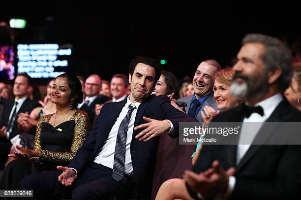 Sacha Baron Cohen during the 6th AACTA Awards Presented by Foxtel at The Star on December 7 2016 in Sydney Australia