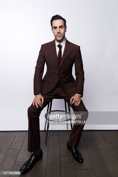 Sacha Baron Cohen poses for a portrait at The BAFTA Tea Party on January 5 2019 in Beverly Hills California