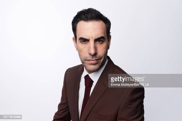 Sacha Baron Cohen poses for a portrait at The BAFTA Tea Party on January 5, 2019 in Beverly Hills, California.