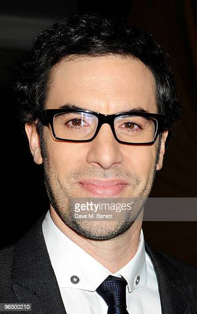 Sacha Baron Cohen with The Peter Sellers Award For Comedy attends the London Evening Standard British Film Awards 2010 at The London Film Museum on...