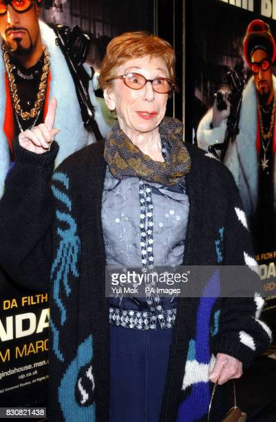 Sacha Baron Cohen's Gran arriving at the Empire Cinema in London's Leicester Square for the premiere of Ali G InDaHouse