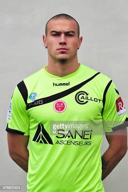 Sacha Bastien Photo officielle Reims Ligue 1 2014/2015 Philippe Le Brech / Icon Sport/MB Media