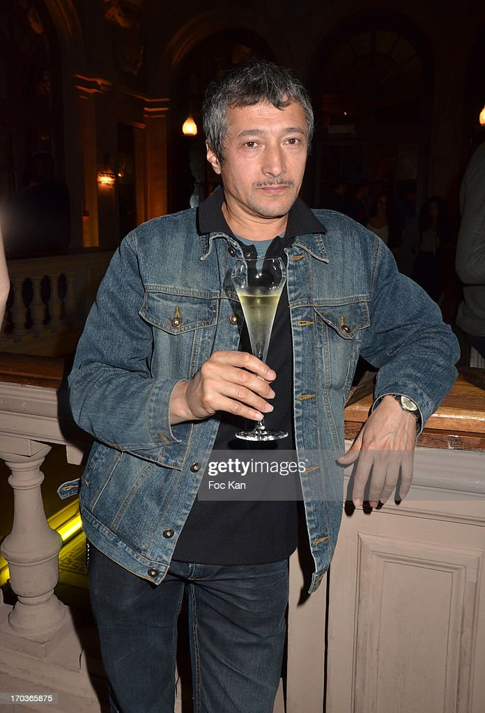 Sacha Bourdo attends the 'Battle Rock' Party At The Trianon Theatre on June 11, 2013 in Paris, France.