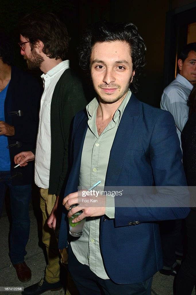 Sacha Dahan attends the Villa Schweppes Launch Party For Cannes Film Festival 2013 At Salle Wagram on April 24, 2013 in Paris, France.