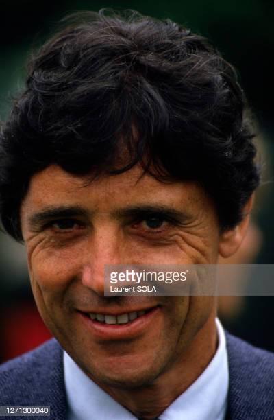 Sacha Distel en juin 1986 à Paris, France.