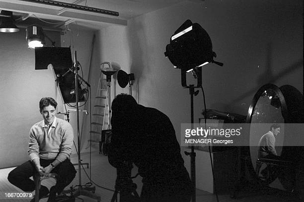 sacha distel in studio pictures getty images. Black Bedroom Furniture Sets. Home Design Ideas