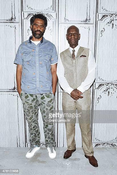 Sacha Jenkins and Dapper Dan attend AOL Build Speaker Series at AOL Studios In New York on June 22, 2015 in New York City.