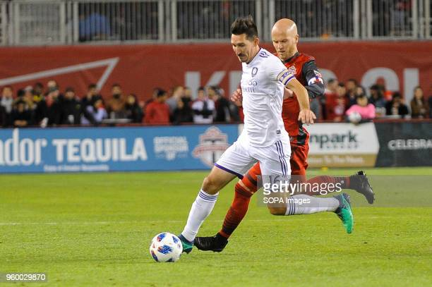 BMO FIELD TORONTO ONTARIO CANADA Sacha Kljestan during 2018 MLS Regular Season match between Toronto FC and Orlando City SC at BMO Field