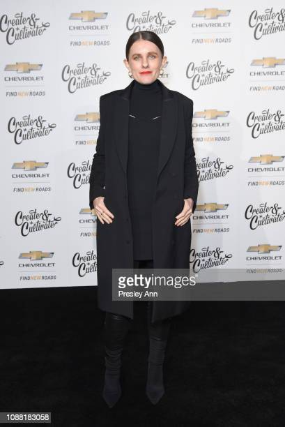 Sacha Strebe attends the Create Cultivate And Chevrolet Launch Event For The Create Cultivate 100 List on January 24 2019 in Los Angeles California