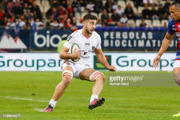 Sacha ZEGUEUR of Oyonnax during the Pro D2 match between Grenoble and Oyonnax at Stade des Alpes on December 19, 2019 in Grenoble, France.