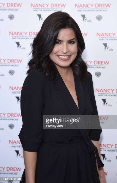 Sacheen Medford attends the red carpet premiere of 'Nancy Drew and the Hidden Staircase' at AMC Century City 15 on March 10 2019 in Century City...
