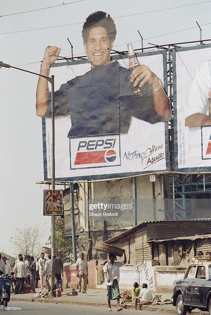 Sachin Tendulkar Advert : News Photo