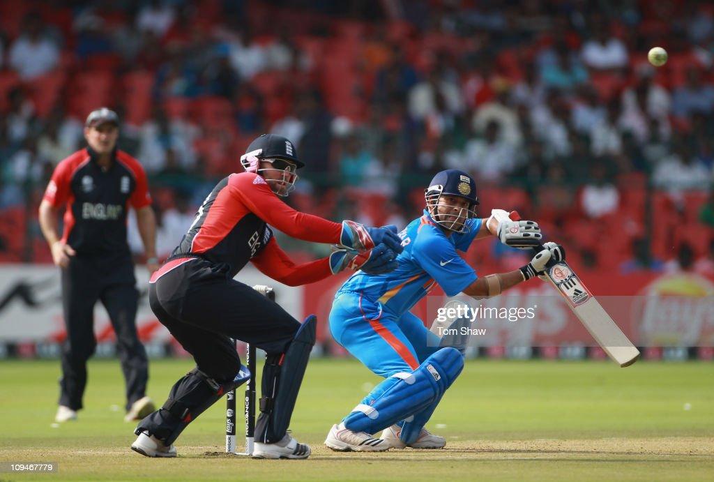 India v England: Group B - 2011 ICC World Cup : News Photo