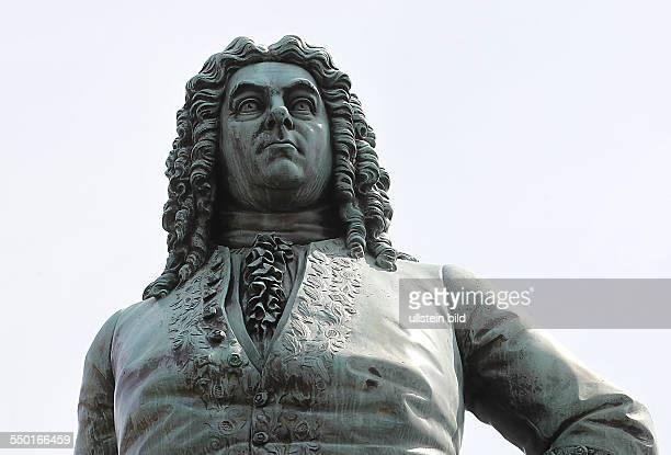 Sachsen Anhalt/ Halle: Händeldenkmal, Denkmal für Georg Friedrich Händel