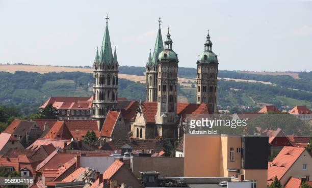 Sachsen Anhalt Stadtansicht Ansicht Naumburg Naumburger Dom