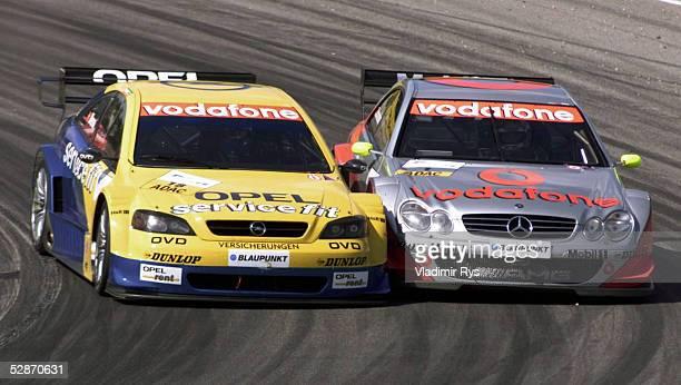 MASTERS 2002 Sachsenring WARM UP Alain MENU/SUI Bernd SCHNEIDER/GER