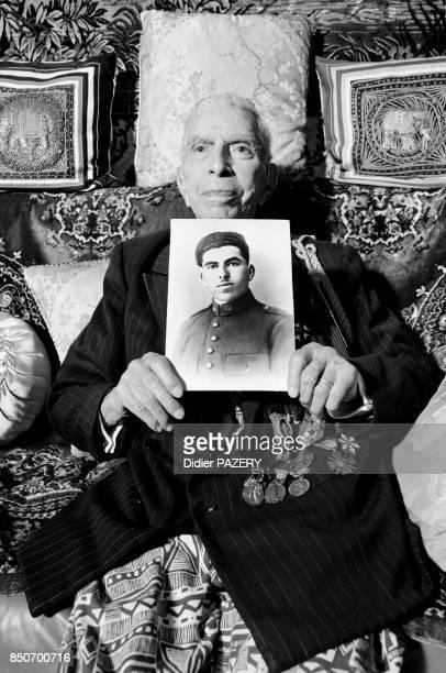Saci Ben Hocine Mahdi ancien combattant algérien de la guerre de 1418 né le 21 juin 1898 à Bejaïa Mobilisé dans le 1er régiment de tirailleurs...
