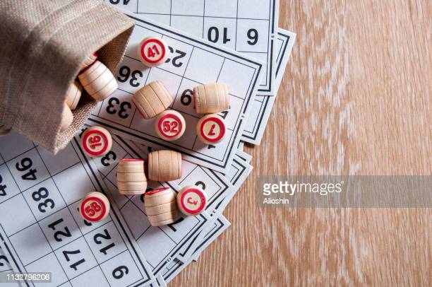 board game lotto cards for game
