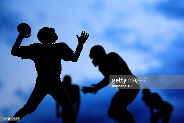 sack the quarterback - sack stock pictures, royalty-free photos & images