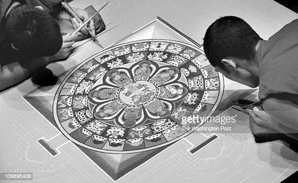 MANDALA Sackler Gallery NW DC Tibetan Buddhist monks have been working since Saturday on a Mandala sand painting in the Sackler gallery A Mandala is...