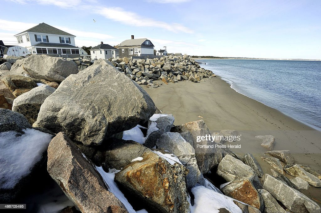 Saco City Officials And Residents Of Camp Ellis Are Concerned That The Army Corps Jetty