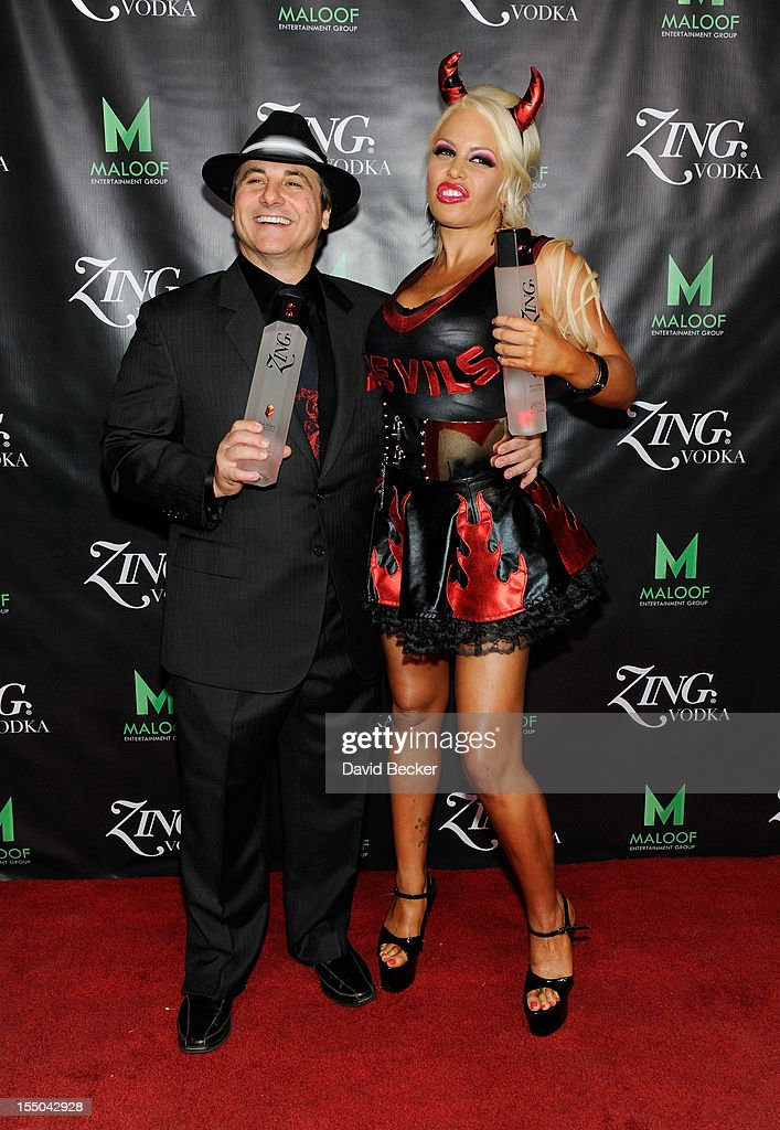 ZING Vodka's Las Vegas Launch Party At Gavin Maloof's Private Estate : News Photo