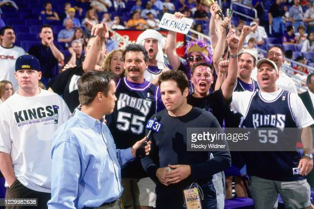 Sacramento Kings Owner, Joe Maloof is interviewed at the Arco Arena in Sacramento, California May 2, 2001. NOTE TO USER: User expressly acknowledges...