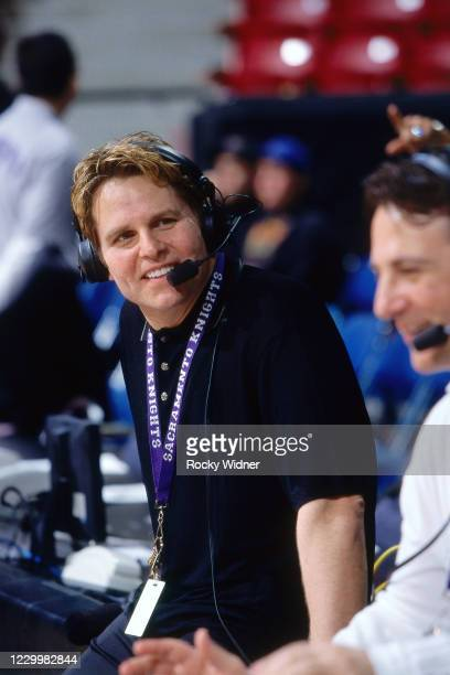 Sacramento Kings Owner, Joe Maloof is interviewed at the Arco Arena in Sacramento, California on March 24, 2002. NOTE TO USER: User expressly...