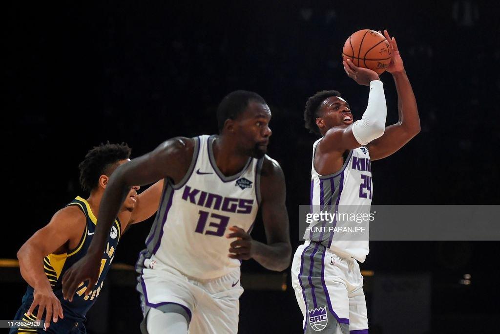 BASKETBALL-IND-NBA : News Photo