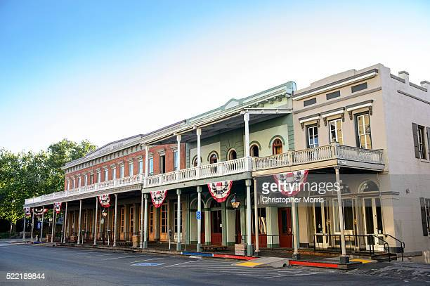 sacramento - historic district stock pictures, royalty-free photos & images