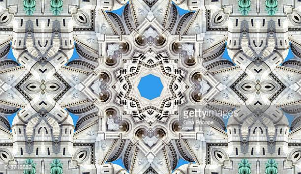 Sacre Coeur, Kaleidoscope effect.
