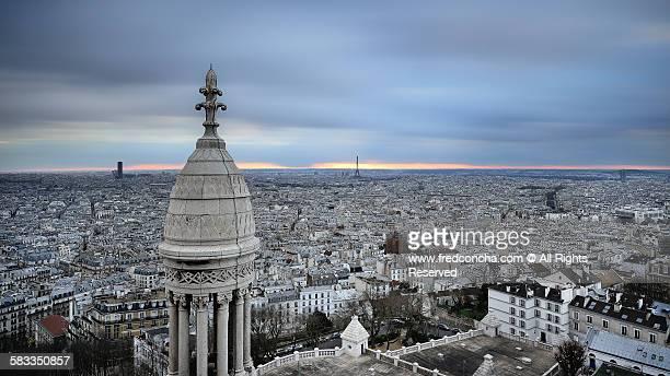 Sacre Coeur view