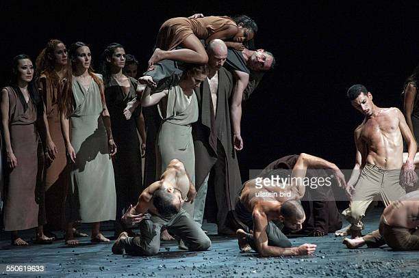 'Sacre' 'Le sacre du printemps' by Igor Strawinsky at the German State Opera in Schiller Theatre in Berlin musical direction Daniel Barenboim stage...